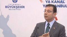 Ekrem İmamoğlu: Kanal İstanbul, İstanbul'un doğasını katletmek demek